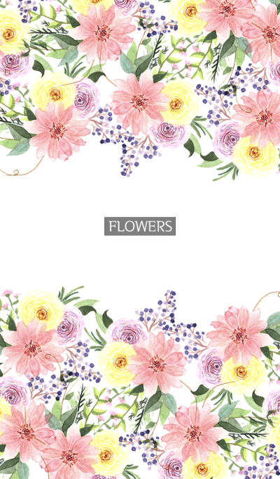 water color flowers_240