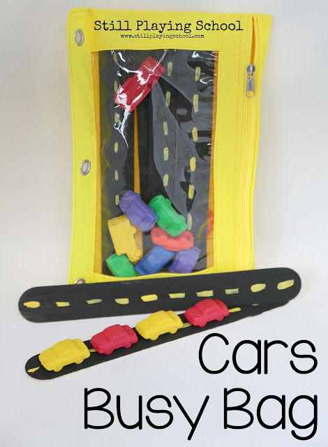 Cars Busy Bag
