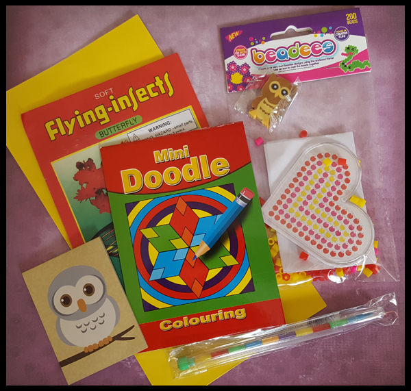 Colour & Create Pre-filled party bag £1.80