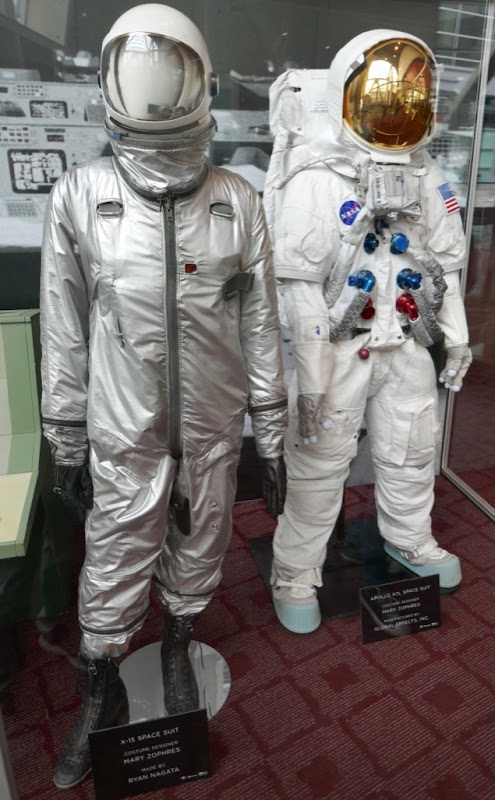 First Man movie spacesuits