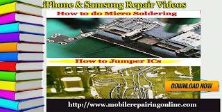 iPhone & Samsung repair video