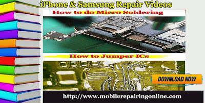iPhone & Samsung repair video