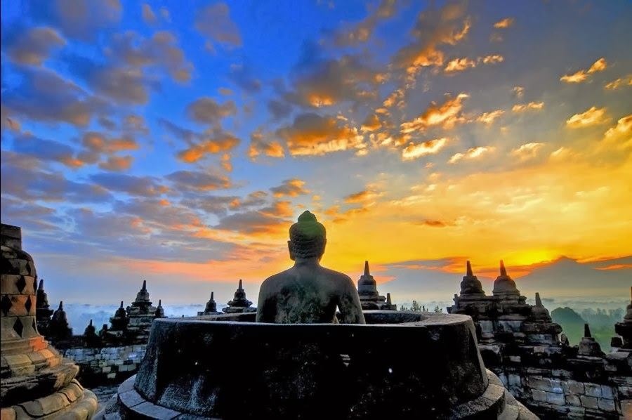 Lokasi Wisata Candi Borobudur Yogyakarta - Borobudur Temple