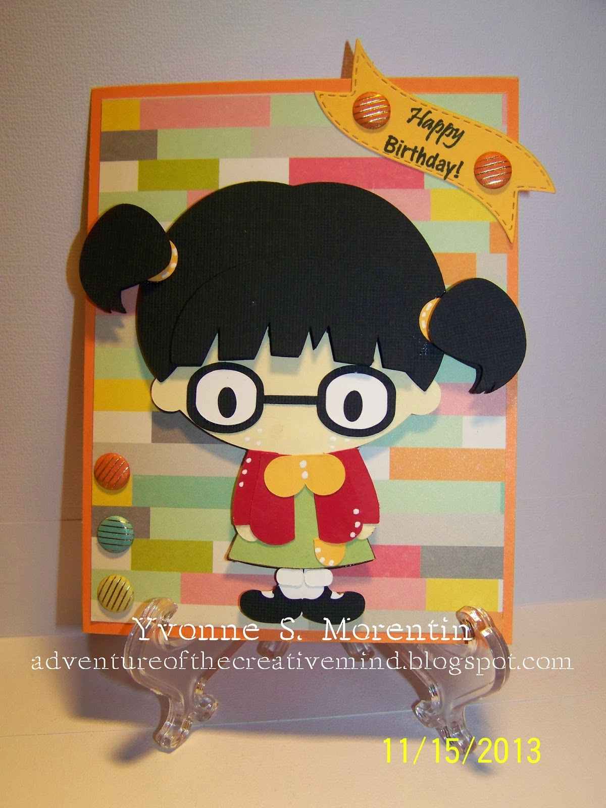 Craftwork Cards Candi: Happy Birthday Little Sister