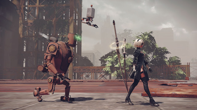 NieR Automata Day One Edition PC Free Download Screenshot 2