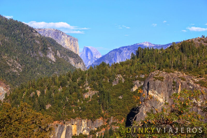 Vistas del Half Dome desde Olmsted Point