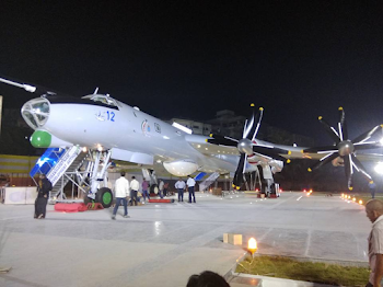 Patrol aircraft TU 142 museum Inside Photos and video  | Hi vizag