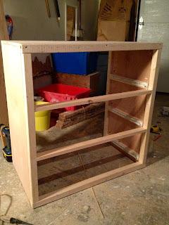 diy dresser frame