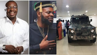 Nigerian Company Starts Manufacturing Armoured Carrier- Alibaba and Falz React