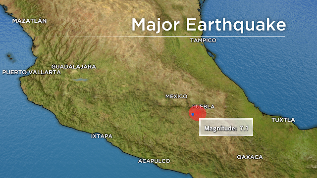 #BreakingNews : Earthquake strikes Mexico City