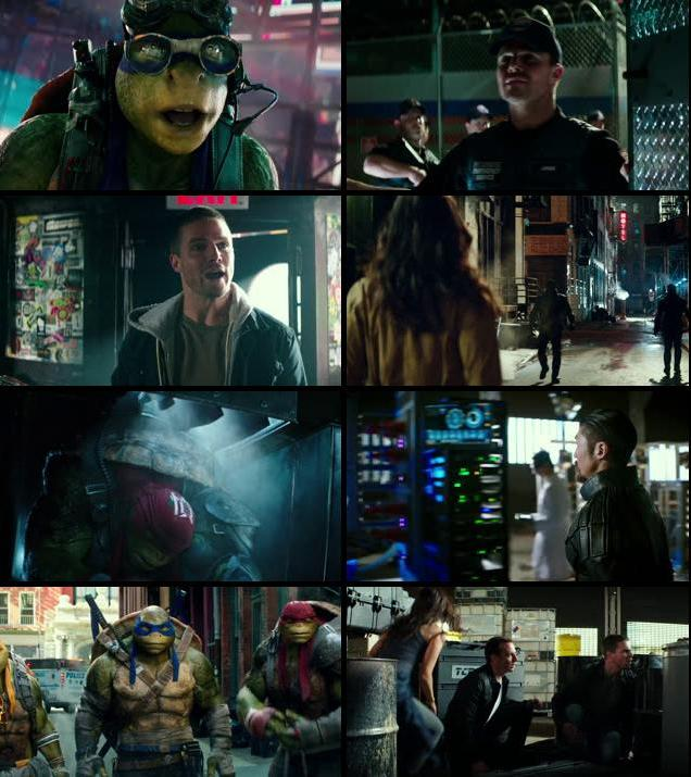 Teenage Mutant Ninja Turtles Out of the Shadows 2016 English 720p BRRip