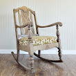 Ardent Hands Designs: Furniture Before & After >> Antique Rocking Chair