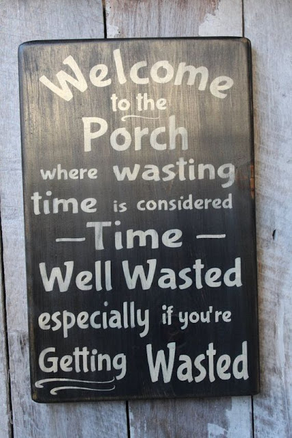 Where wasting Time is considered Time Well Wasted