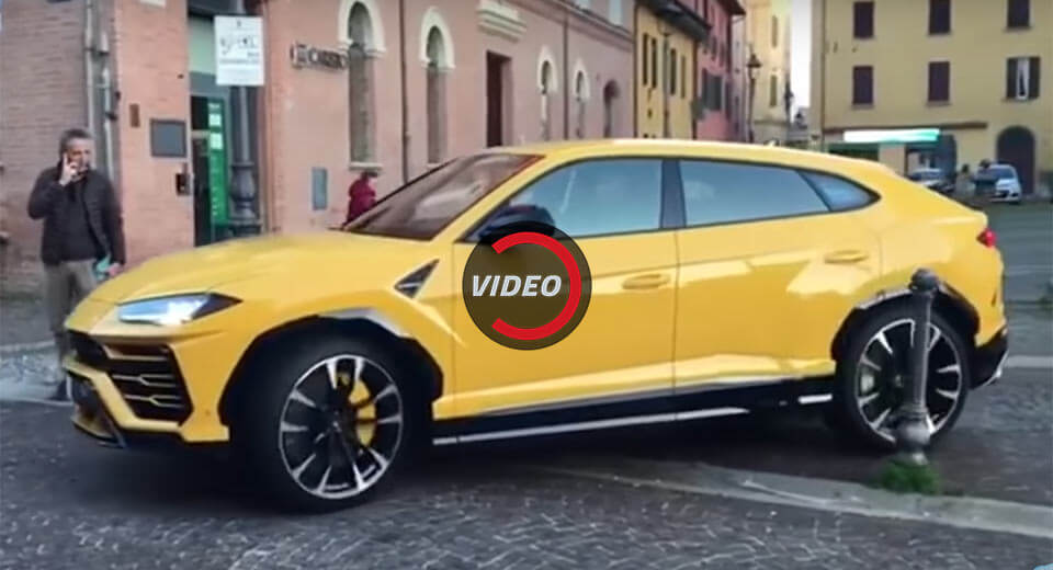 lamborghini urus sounds worryingly downcast on the street. Black Bedroom Furniture Sets. Home Design Ideas