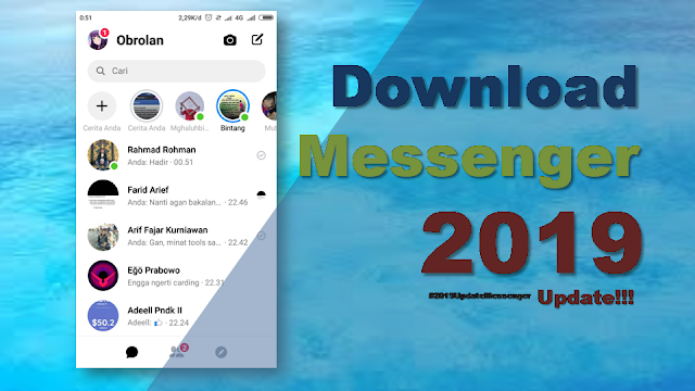 Download Aplikasi Facebook Messenger Terbaru 2019