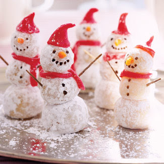Christmas Snowman Cookies Ideas | Food and Drink