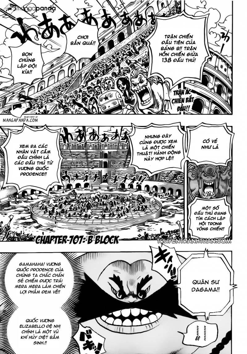 One Piece Chap 707