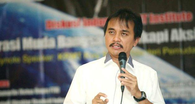 Roy Suryo: Presiden Bisa Naik Helikopter, Tak Perlu Alasan Jalan Tertutup