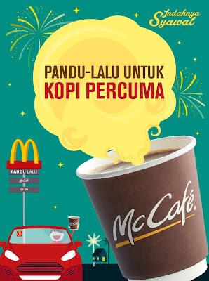 McD Drive-Thru Free Coffee