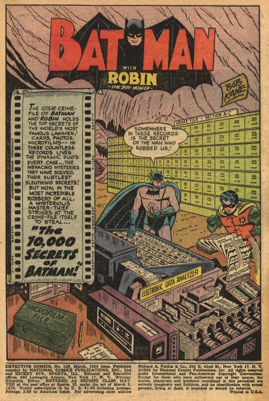Read online Detective Comics (1937) comic -  Issue #229 - 3