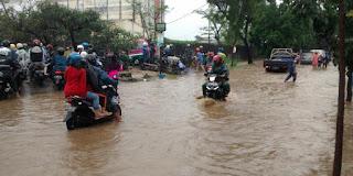 BNPB: Banjir di Kota Bandung Meluas ke 20 Titik