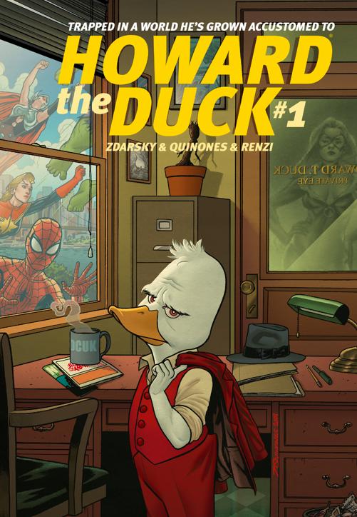 Howard the Duck #1 - Marvel 2015