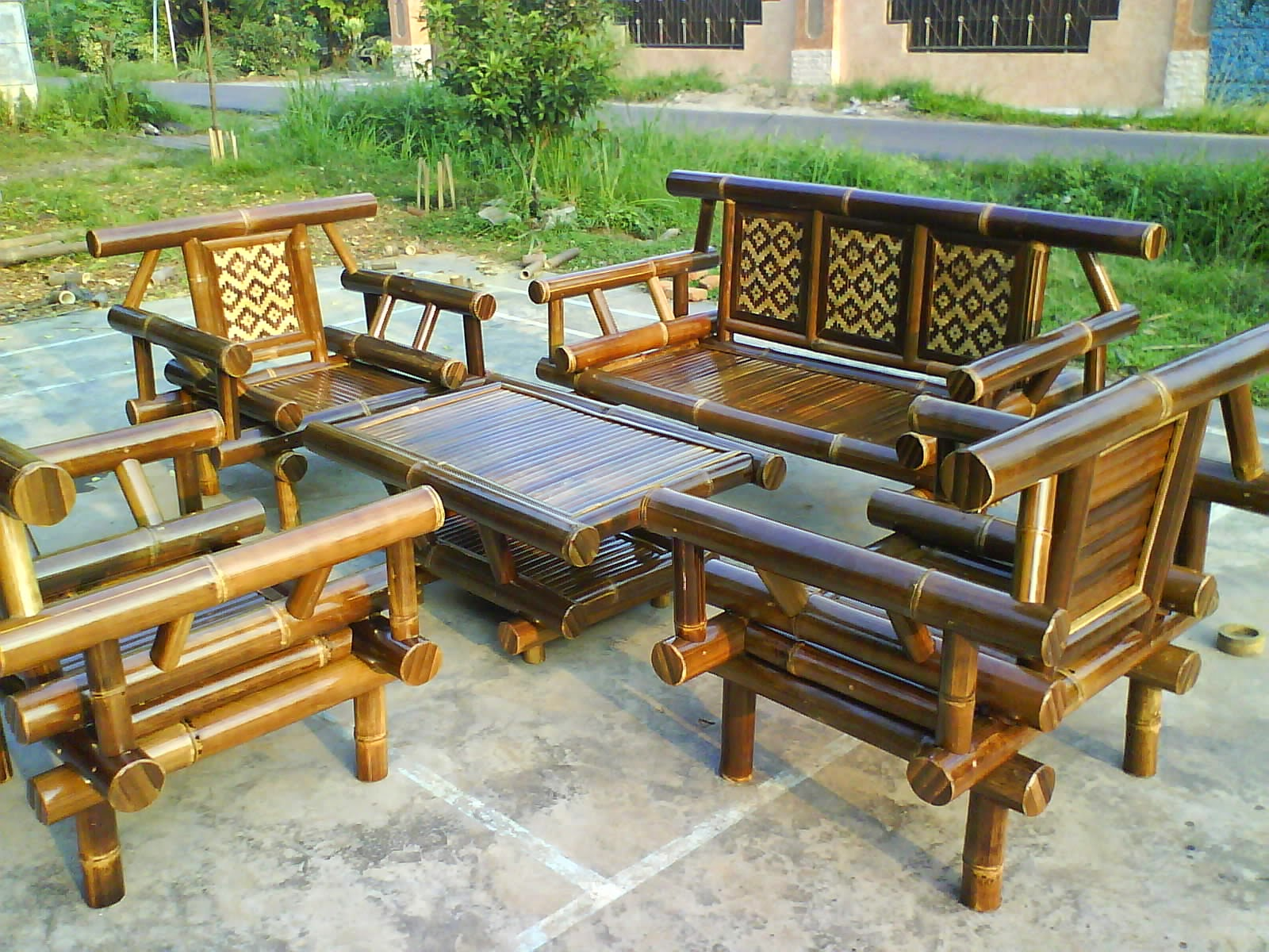 1030+ Gambar Kursi Dari Anyaman Bambu Gratis Terbaik