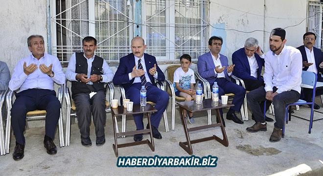 Süleyman Soylu, Mercan ailesine taziye ziyaretinde bulundu