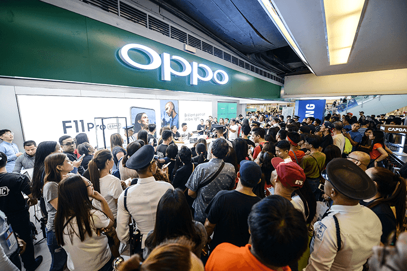 OPPO store in Megamall