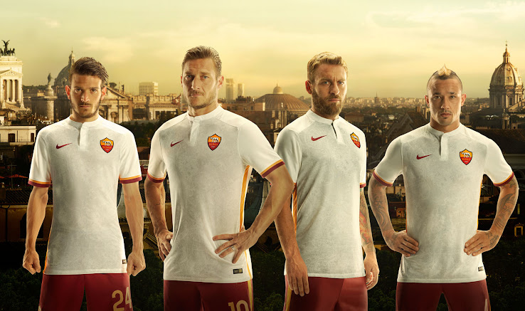 bfc7b25b6fd AS Roma 15-16 Kits Released - Footy Headlines