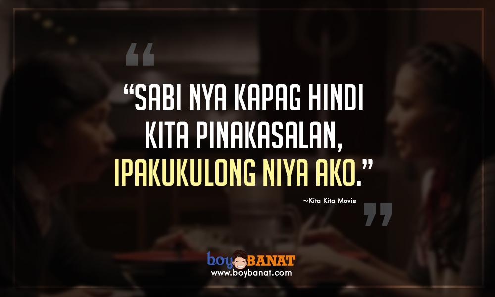 Famous Line Ng Mga Artista : Boy banat