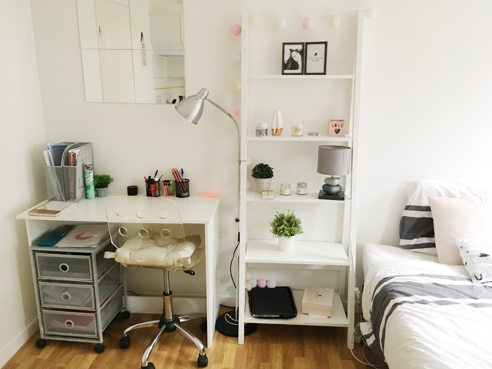 Aménager un studio : appartement tour - Lisa Dct - Le blog lifestyle ...