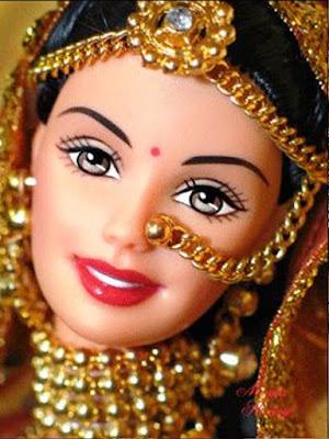 Gambar Boneka Barbie dari India
