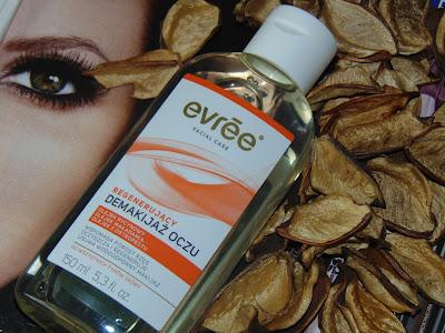 Evree, Regenerujący olejek do demakijażu oczu