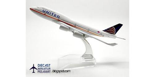 JUAL DIECAST PESAWAT A380