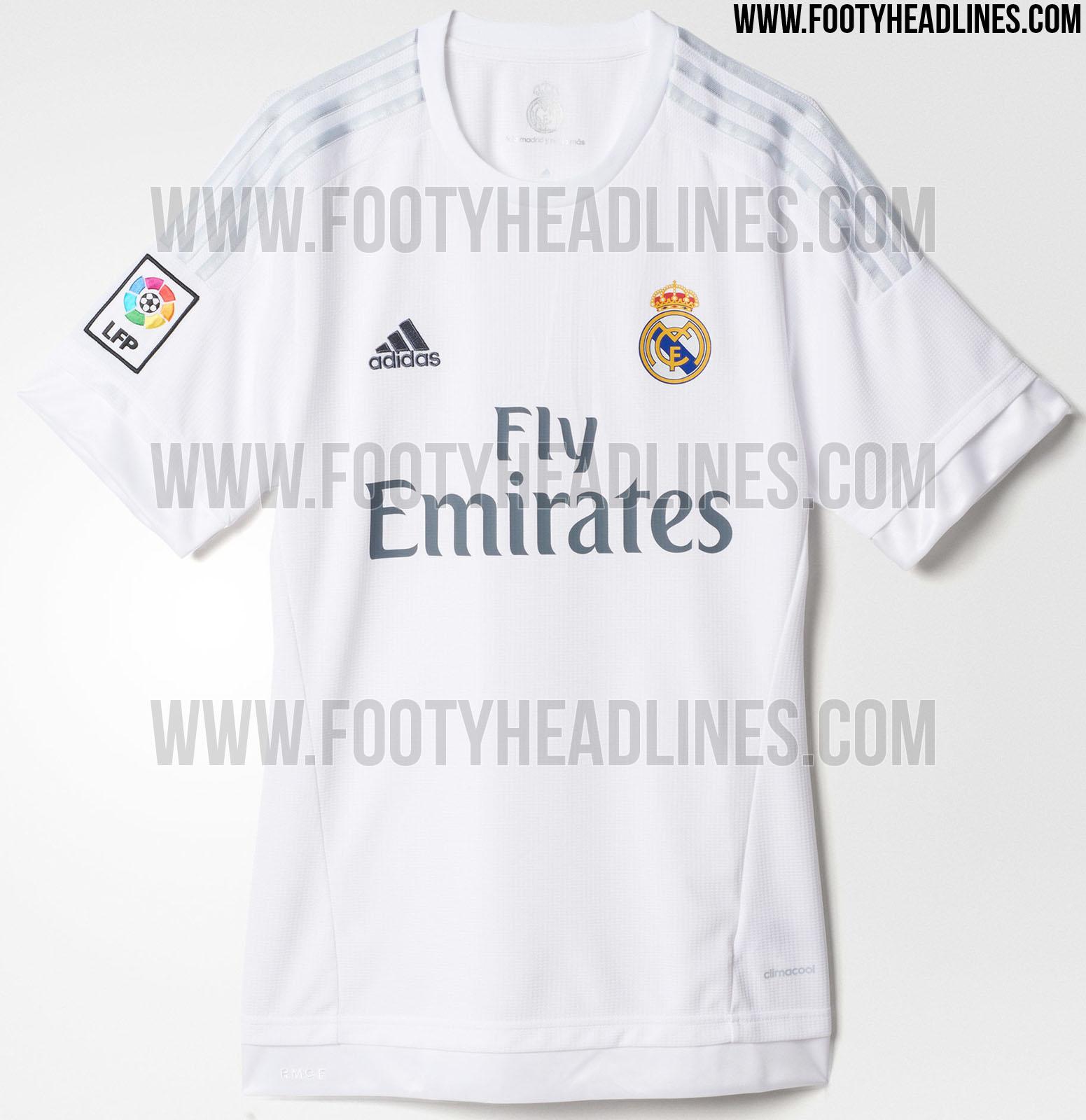 El Real Madrid presentará sus camisetas 201516 el 15 de