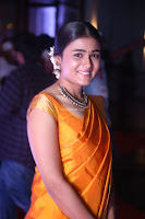 Shalini Pandey in Beautiful Orange Saree Sleeveless Blouse Choli ~  Exclusive Celebrities Galleries 027.JPG