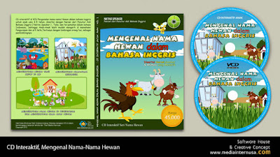Alat Belajar Anak CD Interaktif