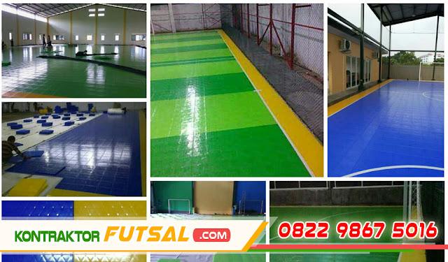 Harga Lantai Interlock untuk Lapangan Futsal Indoor
