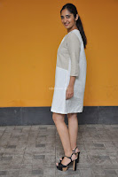 Radhika Cute Young New Actress in White Long Transparent Kurta ~  Exclusive Celebrities Galleries 085.JPG