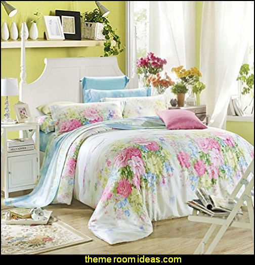Floral Prints Duvet Cover Set