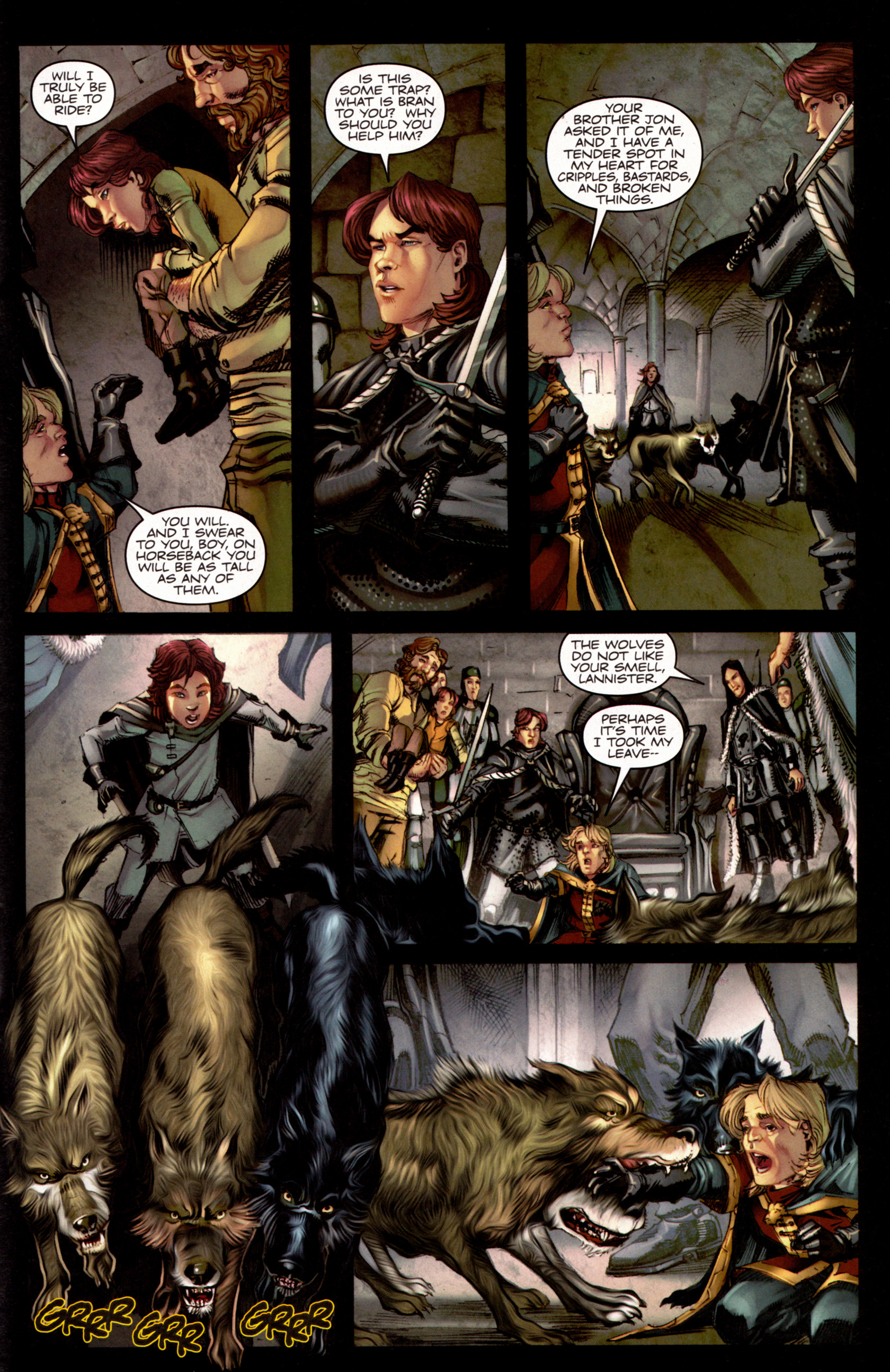 Read online A Game Of Thrones comic -  Issue #7 - 28