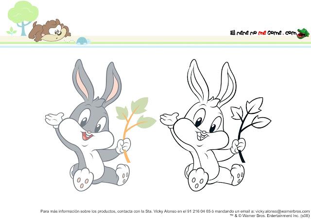 Dibujos Para Colorear De Luny Tunes Bebes: Dibujos De Bebes Looney Tunes Para Imprimir Y Colorear