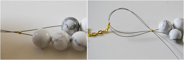 collier, bijoux, marbre, DIY, mummyslittlegirl, la perle des loisirs