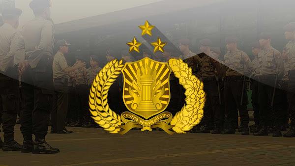 Lambang Tribrata Polri (Polisi Republik Indonesia)