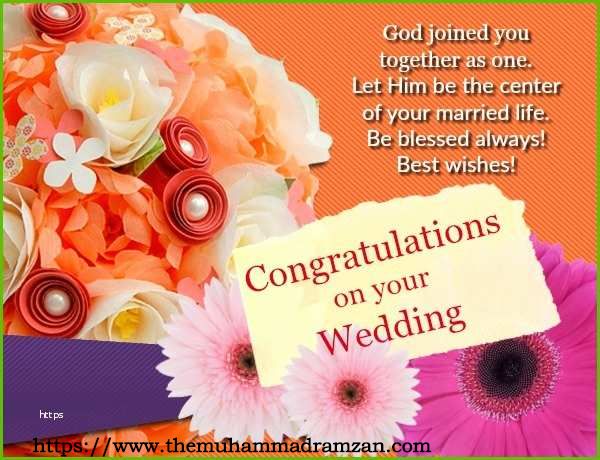 Wishes for Best Friend Wedding - Wish for Marriage Blessing - Write Attractive Wishes to Friend - TMR
