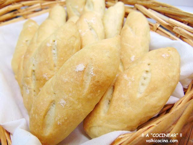 Pan para montaditos, tostas, canapés