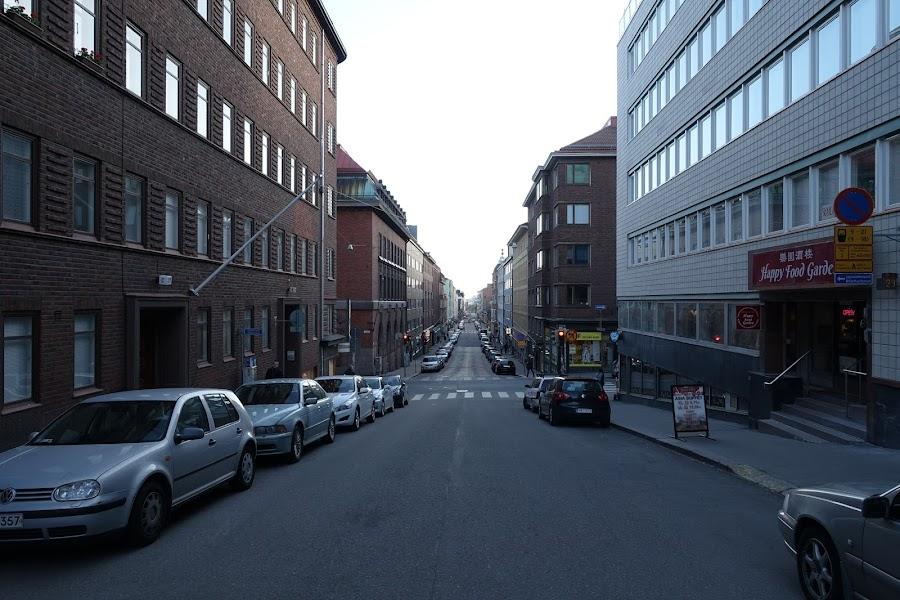 Kalevankatu通り