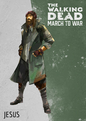 the walking dead march to war paul jesus monroe