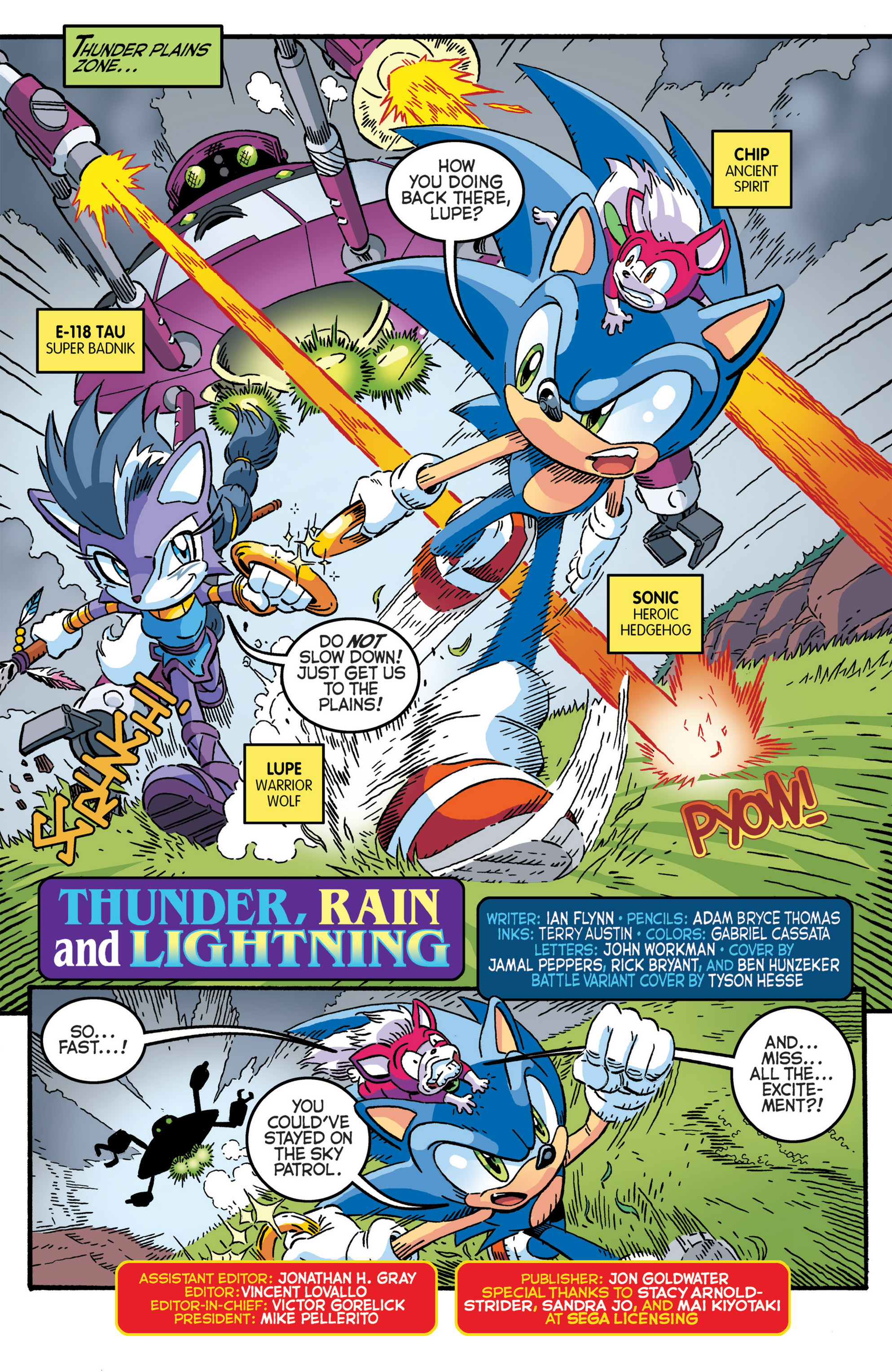 Read online Sonic The Hedgehog comic -  Issue #277 - 3